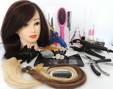 Pre Bonded, Micro Ring, Glue Gun, Remy Hair Extensions HOME TRAINING COURSES