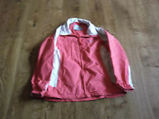 REGATTA WOMENS WATERPROOF JACKET SIZE M COLOR PEACH/CREAM