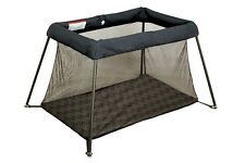 New Childcare Avion Travel Compact Porta Chevion Grey Cot Playpen Play Sleep