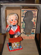 NOMURA VINTAGE & PERFECTLY WORKING BATTERY OPERATED BARTENDER IN ORIGINAL BOX!