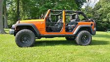 Rear Tube Doors (1 Pair) - Jeep® Wrangler JK Unlimited 2007-2016 - Safari Doors