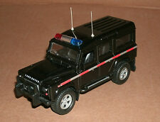 1/32 Land Rover Defender 110 Police Wagon Diecast Model - Has Lights And Sound