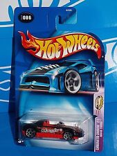 Hot Wheels 2003 Carbonated Cruisers #86 MX48 Turbo Black w/ HANDY Punch Malaysia