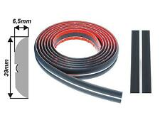 003/39mm Black Chrome Car Body Door Bumper Protector Moulding Strip 2/17m