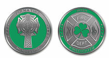 Irish Firefighter Challenge Coin
