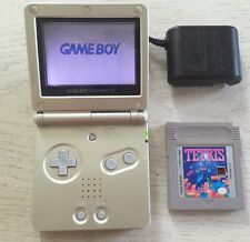 Game Boy Advance SP Bundle + Game, Charger, Brand New Battery, Plays Great!