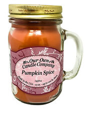 Pumpkin Spice Holiday Scented Candle in 13oz Mason Jar by Our Own Candle Company