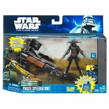 Star Wars Cad Bane + Pirata Speeder Bike Figura De Acción Nuevo Sellado