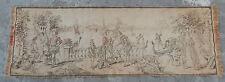 Vintage French Beautiful Scene Tapestry 134X47cm (A174)