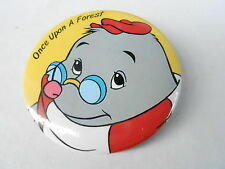 VINTAGE PROMO PINBACK BUTTON #97-014 - ONCE UPON A FOREST