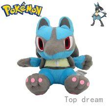 New Pokemon Lucario Soft Plush Toy Stuffed Animal Doll 18cm 7'' Teddy Gift