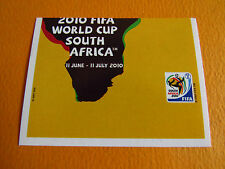 28 AFFICHE POSTER OFFICIEL  PANINI FOOTBALL FIFA WORLD CUP 2010 COUPE MONDE