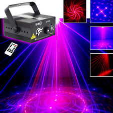 Suny 18 patterns 300mw Laser BLUE LED Stage Lighting DJ Xmas Party show Light