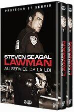 23783 //LAWMAN  STEVEN SEAGAL VOLUME 1  + VOLUME 2 NEUF SOUS BLISTER