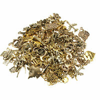 75g Gorgeous Gold Plated Mixed Charms / Beads For Jewellery Making And Crafts