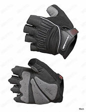 Tactic fingerless Bicycle Bike Cycling Racing Gloves gel on palm Black M