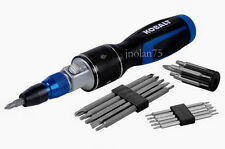 KOBALT 35 Pc Piece Double Drive QL3 Screwdriver Set + QUICK LOAD & METAL SWITCH