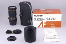 【Near Mint】 Tamron SP AF 180mm f3.5 Di Macro B01 Lens For Nikon from Japan♯453