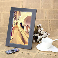 10.1Inch HD LCD Digital Photo Frame Alarm Video Player + Remote BQ