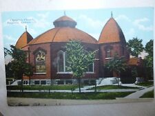 Early 1900's The Christian Church in Emporia, Ks Kansas PC