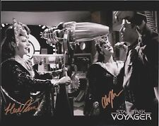 Heidi & Alissa Kramer Star Trek Voyager  Original Autographed 8X10 Photo