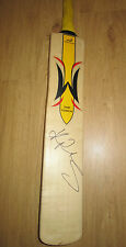 Kevin Pietersen hand signed full size cricket bat (Woodworm) COA & Photo proof