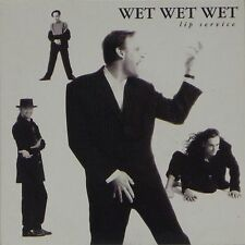 """WET WET WET 'LIP SERVICE / HIGH ON THE HAPPY SIDE' UK PICTURE SLEEVE 7"""" SINGLE"""