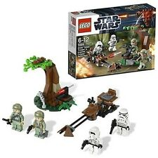LEGO 9489 Endor Rebel Trooper & Imperial Trooper Battle Pack
