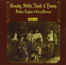 CROSBY,STILLS & NASH DEJA VU REMASTERED CD NEW