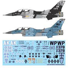 1/32  F-16D Arctic / Wolfpack Bandits MONOKIO Decals