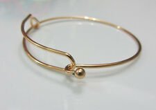 Fashion 1X Expandable adjustable size Bangle DIY Jewelry Ancient Gold