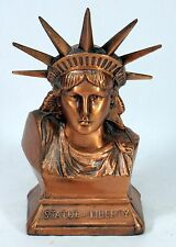 Vintage Statue Of Liberty Still Saving Coin Bank With Key