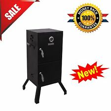 Vertical Charcoal Smoker Barbecue Grill BBQ Meat Cooker Patio Outdoor Backyard