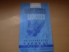 sac en papier Gauloises longues Jacno 20 cigarettes Caporal Filtre vintage