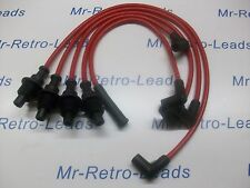 RED 8MM PERFORMANCE IGNITION LEADS FOR RENAULT CLIO 1.8i RSi 19 1.8i CABRIOLET..