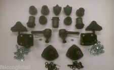 Chevy FULL Size Front End Suspension Kit Ball Joints+Tie Rod Ends+Bushings 55-57