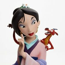 Enesco Grand Jester Studios Disney Mulan and Mushu Bust New