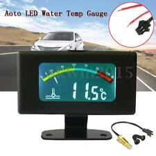 DC9-36V Digital Car Water Temp Gauge Temperature LED Thermometer Motor -10℃~100℃