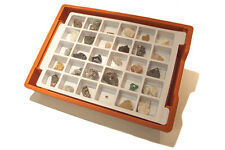 Mineralogy and Petrology Set - 30 Rock and Mineral Samples