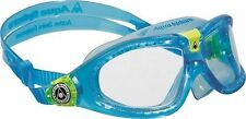 Aqua Sphere Seal 2 Mask Childs Swimming Goggle BLUE Eye Protection 5 to 12 Years