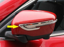 S.steel rearview mirror side molding Chrome trim For Nissan Rogue 2014 2015