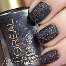 """LOreal PURPLE ✦ Dark Sides of """"bad bad grey"""" Limited 50 Fifty Shades Nail Polish"""
