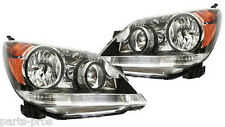 New Replacement Headlight Assembly PAIR / FOR 2008-09 HONDA ODYSSEY