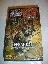 Dr. Deadly's 1/13 Feral Cat Plastic Model Kit Mip New Monster Scenes DENCOMM