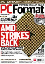 PC FORMAT #289 March 2014 AMD STRIKES BACK Can Kaveri deliver? NVIDIA G-SYNC New