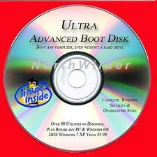 EXTREME ULTRA BOOT DISK RECOVER DOS WINDOWS 7 XP VISTA CD