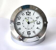New Spy Covert Alarm Clock DVR Metal Clock Camera With Motion Detection Function