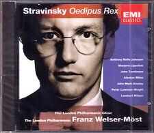 STRAVINSKY Oedipus Rex LIPOVSEK TOMLINSON AINSLEY  WELSER-MÖST CD Welser-Most
