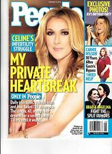 "CELINE DION :RARE""   MAGAZINE ...PEOPLE FEBRUARY 2010...FREE 8X10 PHOTO TO BUYER"