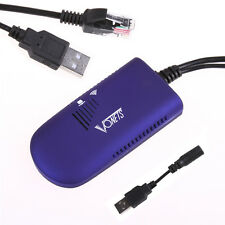 Wireless USB WiFi Bridge Dongle Adattatore Di Rete per XBOX PS3 Dreambox
